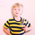 Purple-Sherbet-Photography-Child-Boy-Holding-Pens-Drawing-Kids-Creativity-Young-Posing