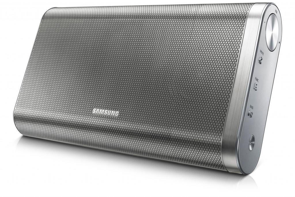 SAMSUNG-DA-F61-EN_008_Right-Angle_silver-WAP-Bluetooth-Speaker-High-Resolution-Large-Image