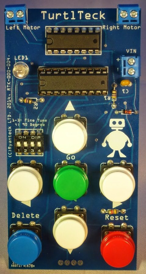 Ryanteck LTD-turtletech-pi-board-kids