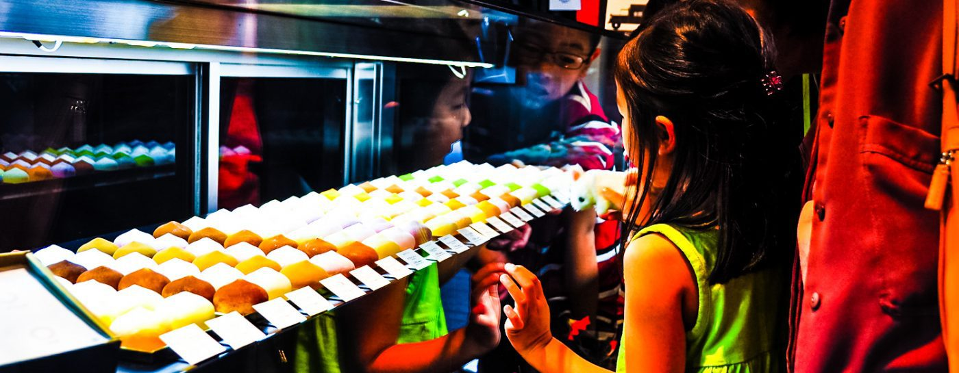 Ame-Otoko-Japanese-Girl-Asian-Family-Shopping-Candy-Mochi-Boy-Mother-Japan-Tokyo-Food
