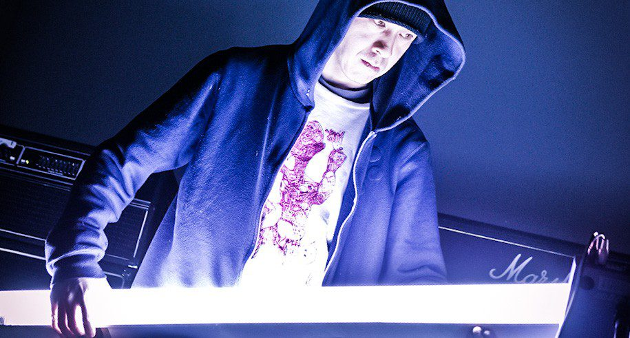 Mark Hoy Atsuhiro Ito Light Art Performance Setup Hoody Action Marshall Amp Stage Update Upgrade Difference crop