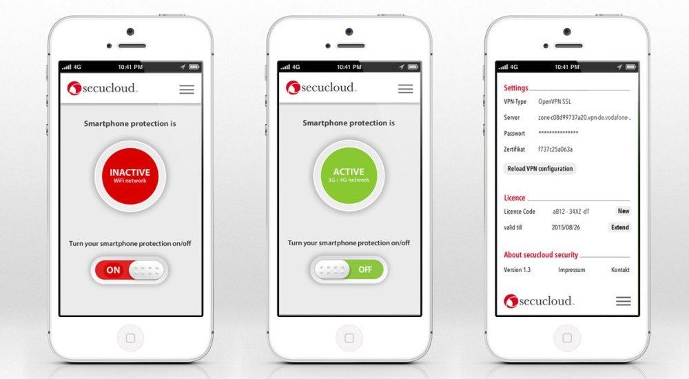 secucloud mobile security app