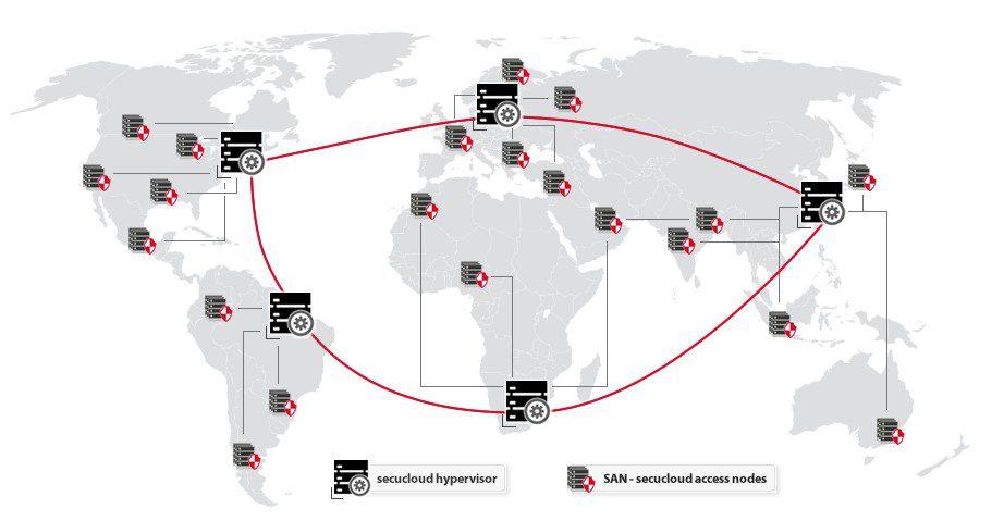 secucloud san world ecs2 map