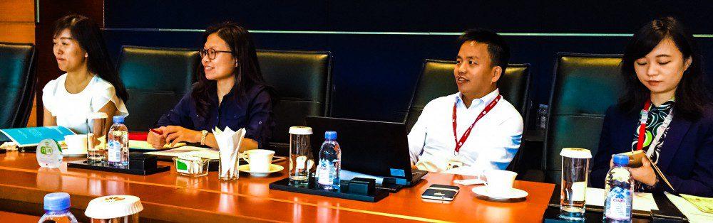 Inside Huawei Boardroom Big Meeting Room China GCI Presentation