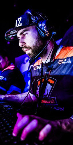LAN Online Gaming eGames Competitive Player Championship Event SteelSeries Gamer Concentrated