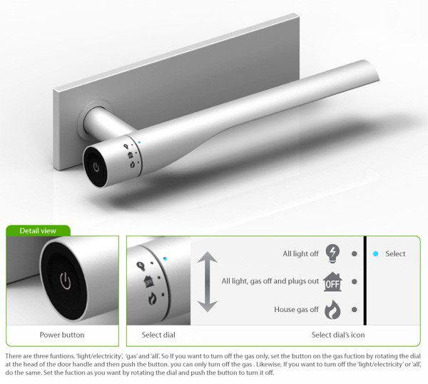 Off Concept Design Smart Door Knob