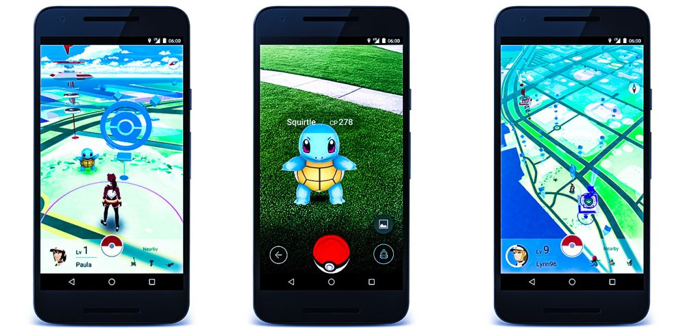 Pokemon GO App Game Screenshots Iphone