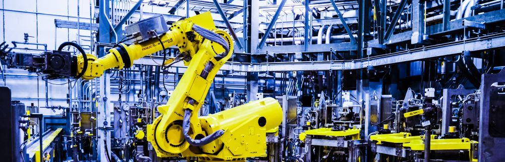 Robot Industry 4 Working Ammunition Factory Worker Future Cleaning Hazard Work Machines Replacement Intelligences Cyberphysical Systems