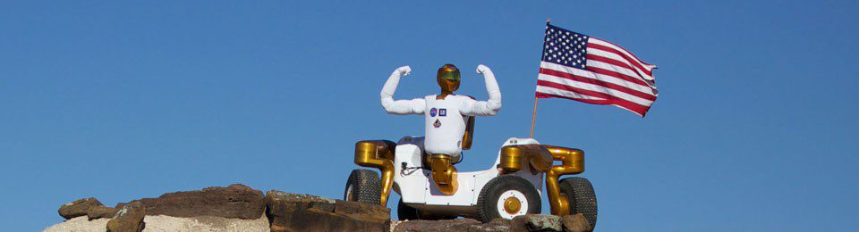 Centaur Mobility Space Robot Robonaut 2 Outside Field Testing