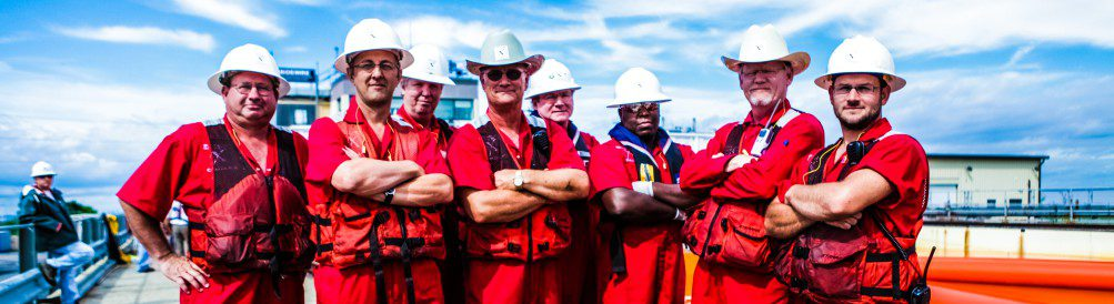 Group of Workers Team Men Safety Hat Industry Working Teamwork Management Manager Motivation Sky Outside