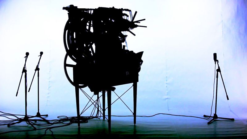 Marble Machine Music Video Martin Molin aka Wintergatan