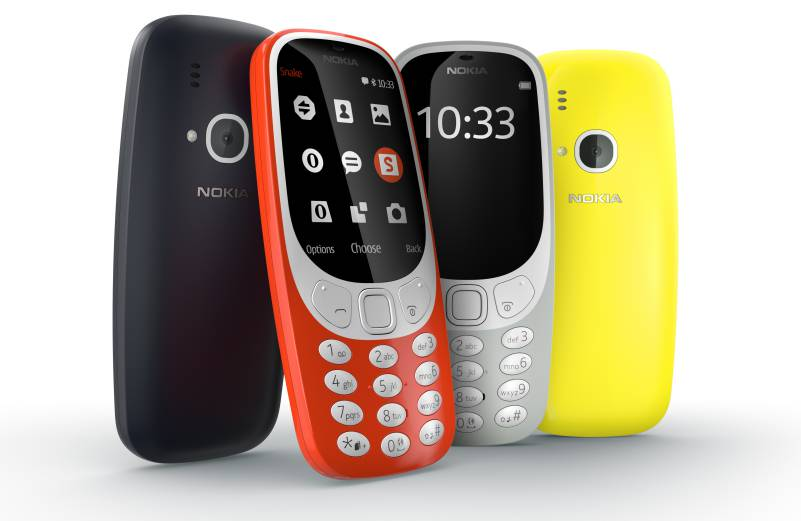 Nokia_3310_range versions colors new remake hmd global oy smartphone cheap backup emergency phone budget android