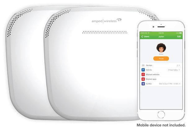 Amped Wireless Ally Plus Security in Consumer Networks