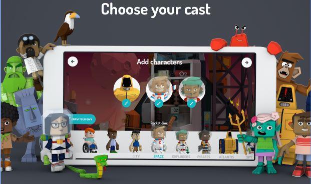 Toontastic 3d Cartoon Creation App Google