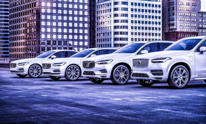 Volvo Cars T8 Twin Engine Range