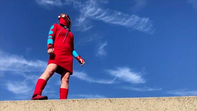 Tiffany Mink Spiderman