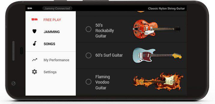 Jammy App Screenshot