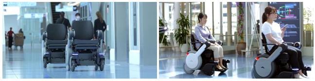 Panasonic Robotic Electric Selfdriving Wheelchair Whill Next Haneda Tokyo Japan Airport News Tech Mobility New Product