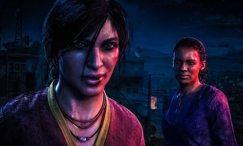 Uncharted The Lost Legacy Chloe Frazer renowned mercenary Nadine Ross india game video review footage