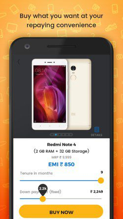 KrazyBee Investment News VC Xiaomi Series A Redmi Note 4 Lending System Credit App India Screenshot