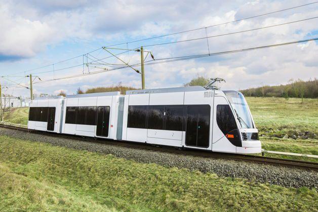 Qatar Foundation Avenio Tram Light Rail Vehicle