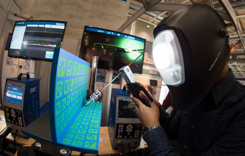 didacta hannover messe vr mixed reality soldamatic solding education