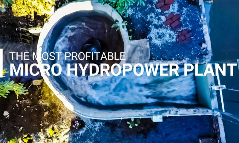 Turbulent Hydro Examples River Power Generation Installation Photo Example Test Running Crop