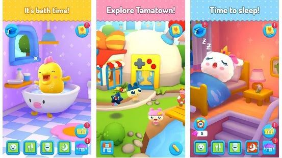 My Tamagotchi Forever Game App Screenshot 2
