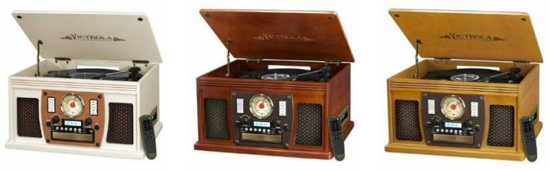 Victrola VTA-600B Color Wood Options Review Article