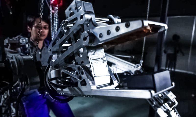 ATOUN NIO Concept Robotics Technology Engineering Research Development Japanese Mecha Suit Future Worker Gear