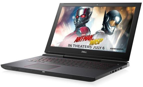 "Dell's new G series high performance gaming laptops play a leading role at the world premiere of Marvel Studio's ""Ant-Man and The Wasp"" (PRNewsfoto/Dell)"
