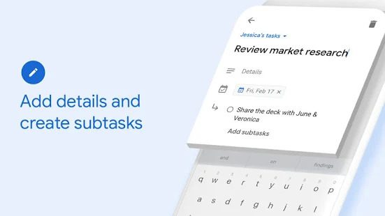 Google To Do Tasks App Review Screenshot Overview UI Design UX Lists Check Kanban