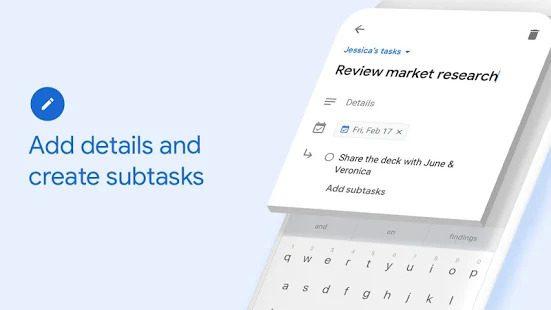 Google To Do Tasks App Review Screenshot Overview UI Design UX Lists Check Kanban