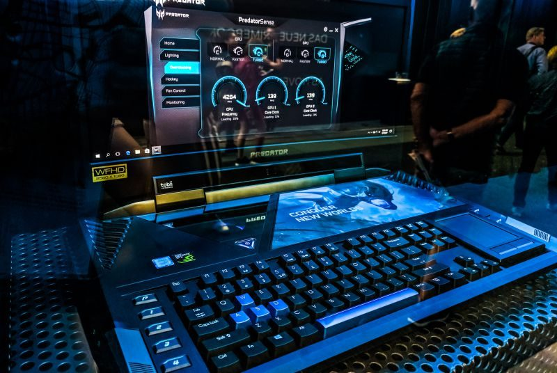 IAA Gaming Equipment PC Rig Gear Hardware Streaming Industry Gamers Virtualization Cloud Asus Predator Laptop Notebook