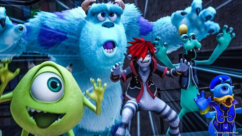 Kingdom Hearts 3 release date expected to be announced at E3 Monsters Inc Disney