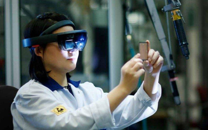 Mixed Reality VR headset Ericsson