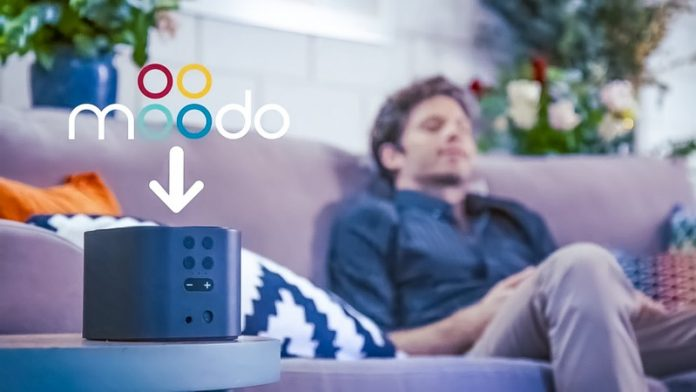Agan Aroma Moodo Fragrance Smart Home IoT Device Controlled with App Smell Perfume Room Mixing Automated Relaxation Calm Meditation