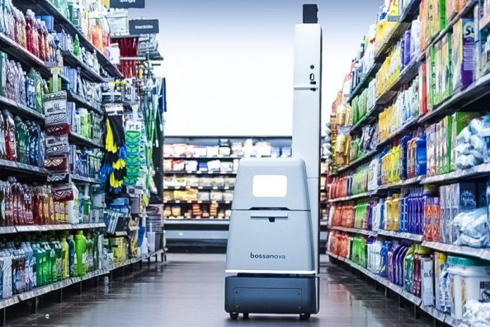 Bossa Nova Robotics real-time on-shelf product data global retail industry large-scale automating collection analysis inventory data