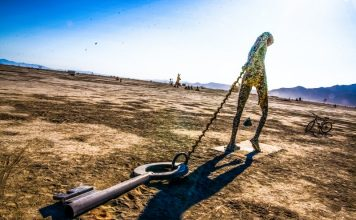 Key Note Sculpture Desert Burning Man Art Made Of Keys And Locks Password Manager Article Encryption