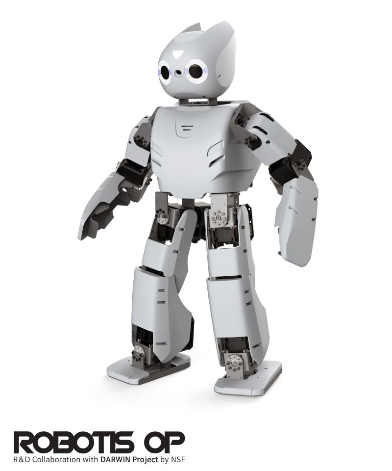 LG-ROBOTIS-R-D-Collaboration-Darwin-Project-NSF-Robotics