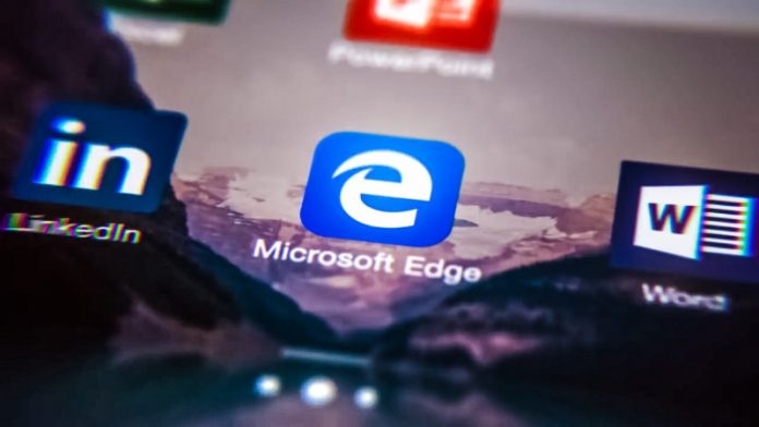 ProjectE--Hero-Microsoft-Edge-Browser-Android-iOS-App-Alternative-New-Feature-Report-screenshots-with-laptop-windows-10-logo-installed