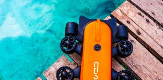 Titan Underwater RC Drone Taking 4K Images Videos Kickstarter Gennoinno Startup China