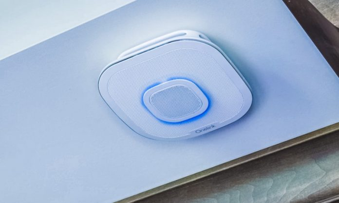 First Alarm Onelink IoT Smart Smoke Detector App Notification Alexa Enabled Night Light Home Office