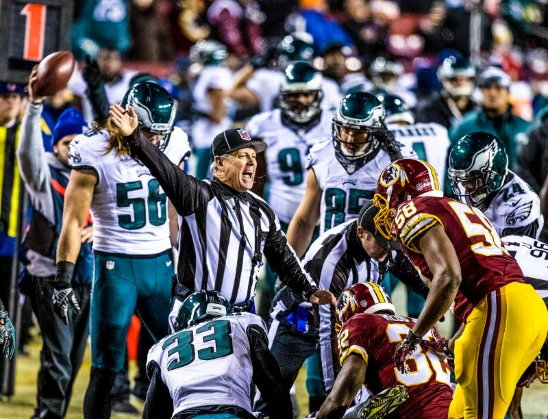 NFL-Football-Redskins-Eagles-Referee-Game-Sports-Tech Eagles at Redskins 12/20/14
