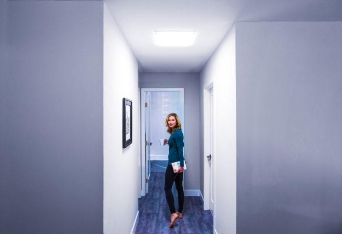 Hallway After_Woman_Solatube