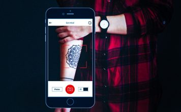 AR Tattoo App Test Designs With Inkhunter on Android and iOS