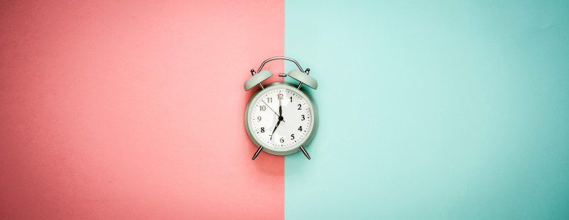 Alarm Clock Pastel Background Timeboxing Time Management Methods Explained Guide Article