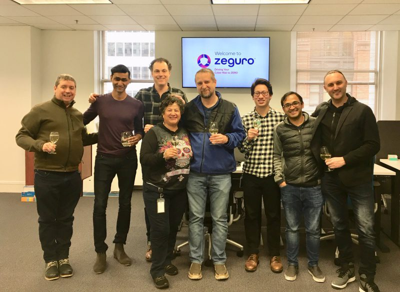 Group shot of the Zeguro team
