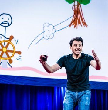 Tim Urban Ted Talk Presentation Speech Video Inside Mind Master Procrastinator