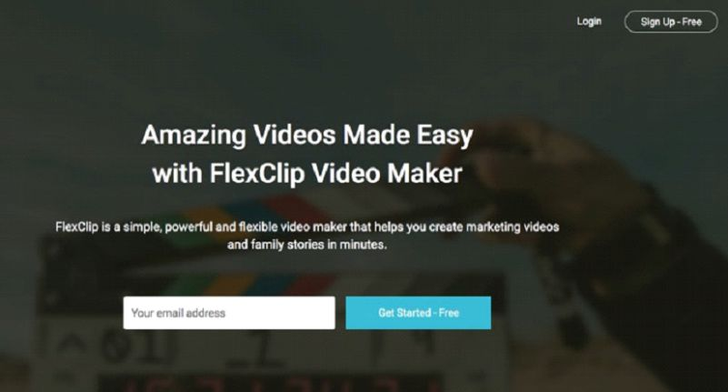 FlexClip Free Video Maker Screenshot 1